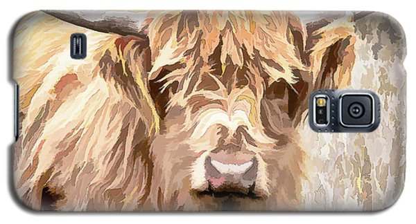 Scottish Highland Cow Galaxy S5 Case