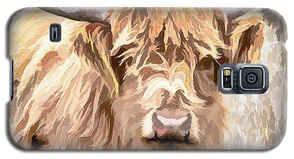 Scottish Highland Cow Galaxy S5 Case