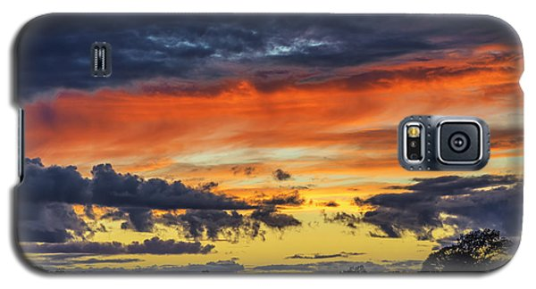 Galaxy S5 Case featuring the photograph Scottish Sunset by Jeremy Lavender Photography