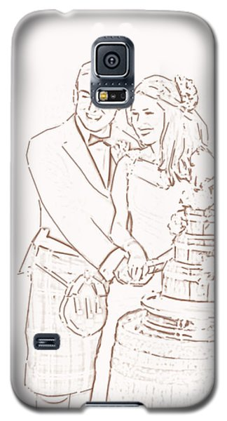 Scottish Wedding Galaxy S5 Case by Olimpia - Hinamatsuri Barbu