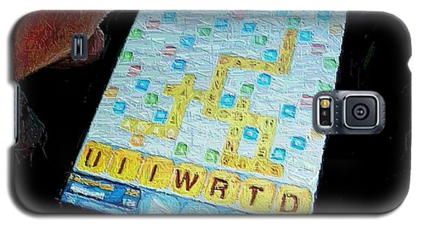 Scrabble Galaxy S5 Case by Ron Bissett
