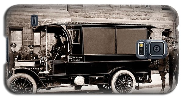Scranton Pennsylvania  Bureau Of Police  Paddy Wagon  Early 1900s Galaxy S5 Case