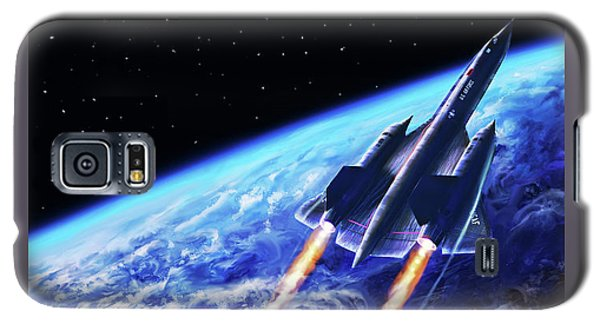 Scraping Outer Spheres Galaxy S5 Case