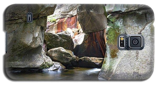 Screw Auger Falls Cavern Galaxy S5 Case