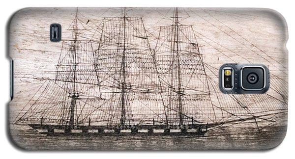 Scrimshaw Whale Panbone Galaxy S5 Case