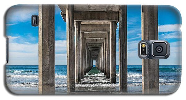 Scripps Pier La Jolla California Galaxy S5 Case