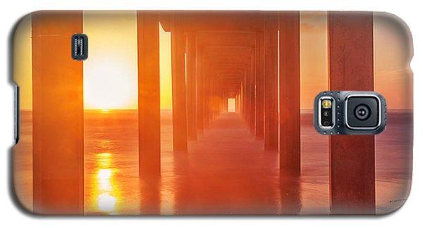 Scripps Pier Sunset Galaxy S5 Case