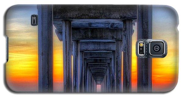 Scripp's Pier Sunset La Jolla California Galaxy S5 Case