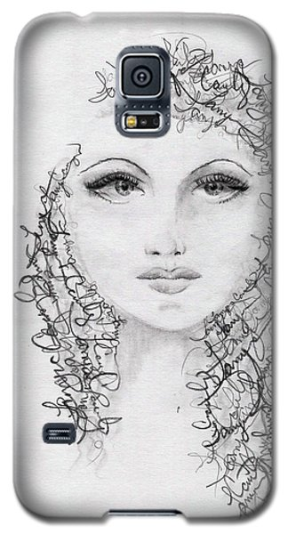 Script Portrait Galaxy S5 Case