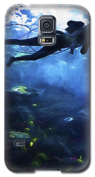 Scuba Diver Galaxy S5 Case