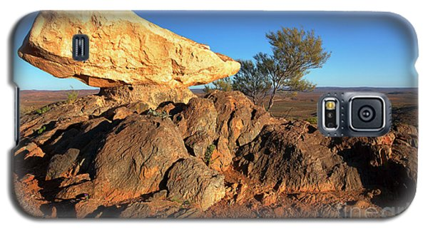 Galaxy S5 Case featuring the photograph Sculpture Park Broken Hill by Bill Robinson