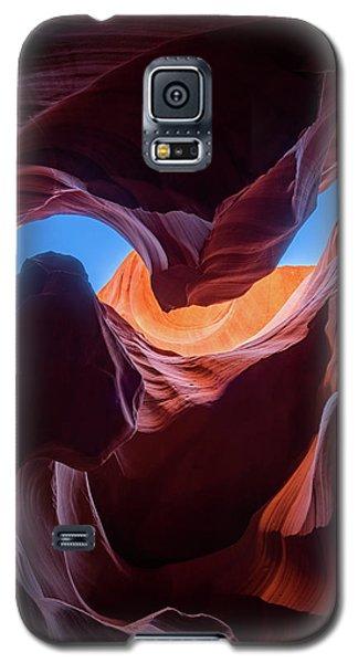 Sculptures Of Desert Galaxy S5 Case
