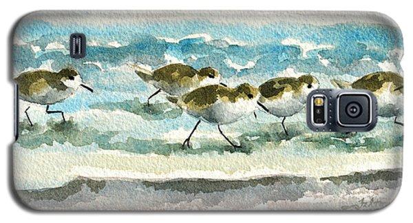 Scurrying Along The Shoreline 2  1-6-16 Galaxy S5 Case