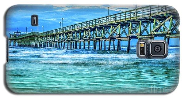 Sea Blue Cherry Grove Pier Galaxy S5 Case