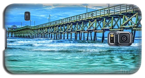 Sea Blue Cherry Grove Pier Galaxy S5 Case