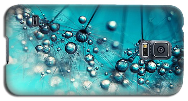 Sea Blue Shower Galaxy S5 Case