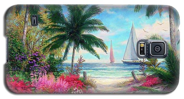 Jazz Galaxy S5 Case - Sea Breeze Trail by Chuck Pinson