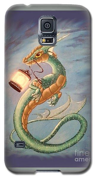 Sea Dragon And Lantern Galaxy S5 Case