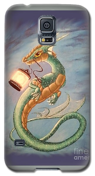 Sea Dragon And Lantern Galaxy S5 Case
