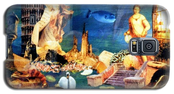 Galaxy S5 Case featuring the painting Sea Garden by Gail Kirtz