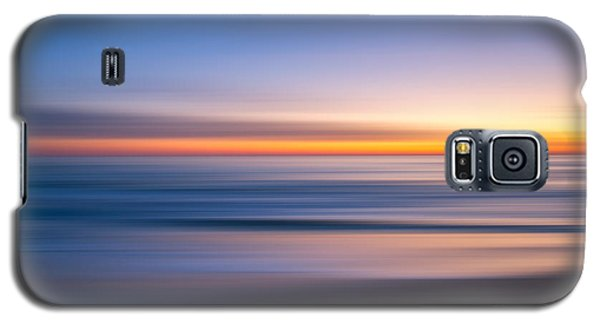 Sea Girt New Jersey Abstract Seascape Sunrise Galaxy S5 Case
