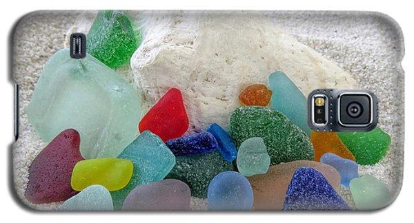 Sea Glass And Conch Galaxy S5 Case