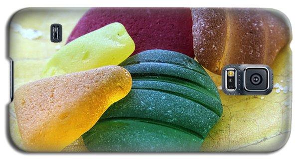 Sea Glass In Foliage Colors Galaxy S5 Case
