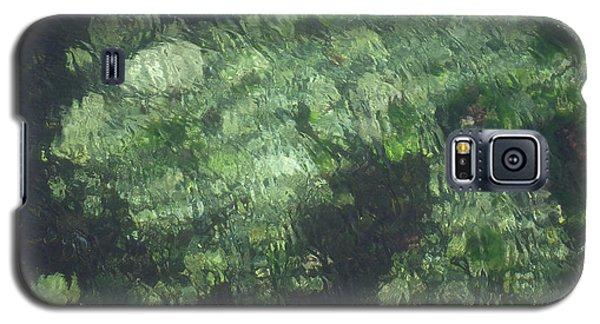Sea Green Abstract Galaxy S5 Case