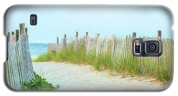 Sea Gull Beach #1 Galaxy S5 Case