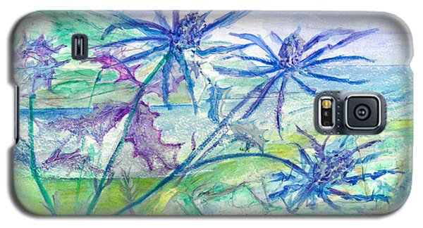 Sea Holly Galaxy S5 Case by Veronica Rickard