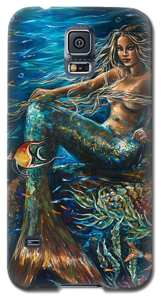 Sea Jewels Mermaid Galaxy S5 Case