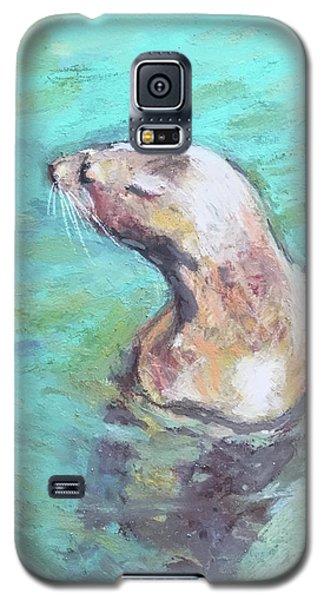 Sea Lion Galaxy S5 Case by Yoshiko Mishina