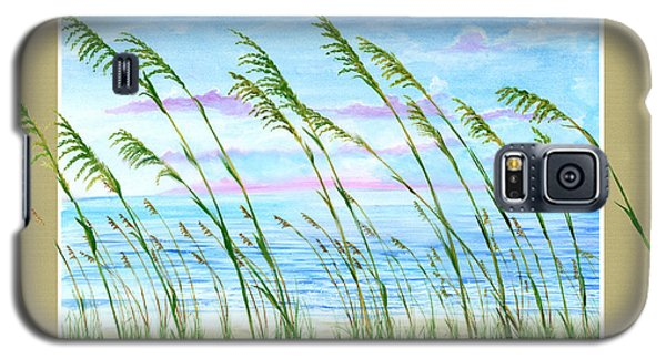 Sea Oats And Sea Galaxy S5 Case