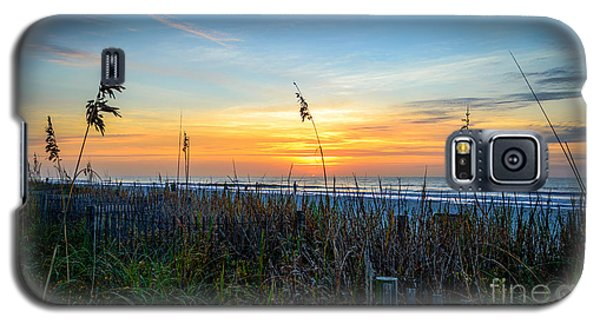 Sea Oats Sunrise Galaxy S5 Case
