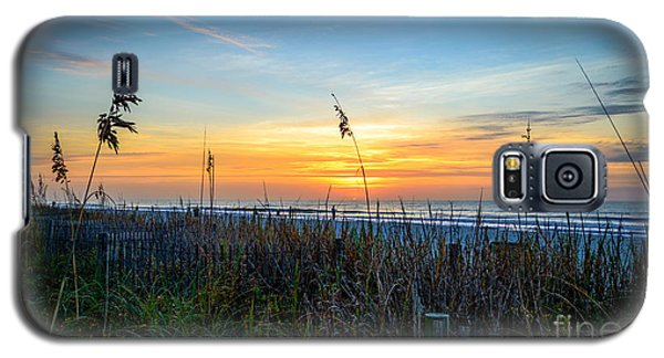 Sea Oats Sunrise Galaxy S5 Case