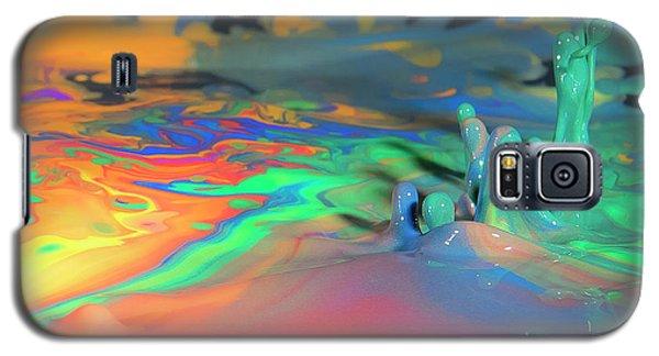Sea Of Paint Galaxy S5 Case