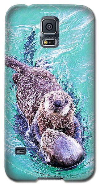 Sea Otter Pup Galaxy S5 Case