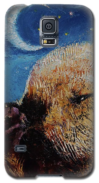 Otter Galaxy S5 Case - Sea Otter Pup by Michael Creese