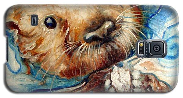 Sea Otter Swim Galaxy S5 Case