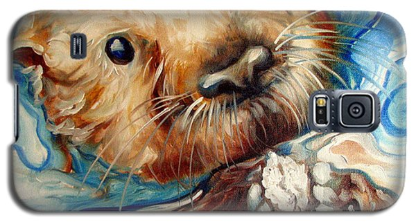Sea Otter Swim Galaxy S5 Case