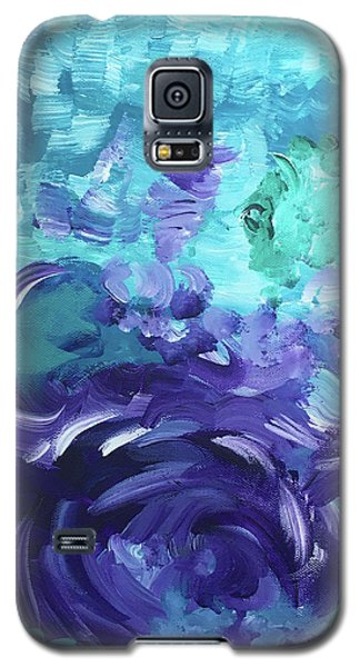 Sea Purple Galaxy S5 Case