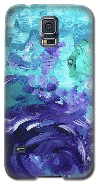 Sea Purple Galaxy S5 Case