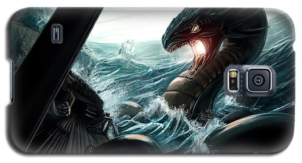 Sea Serpent Galaxy S5 Case