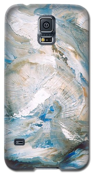 Galaxy S5 Case featuring the painting Sea Shells by M Diane Bonaparte
