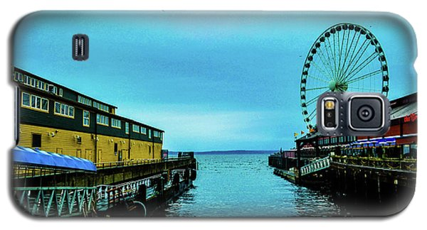 Sea Side, Seattle 2 Galaxy S5 Case