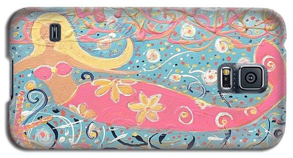 Sea Siren Blondie Galaxy S5 Case