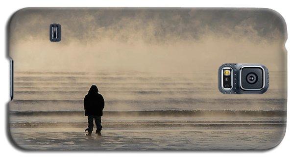 Sea Smoke Thinking Man Galaxy S5 Case