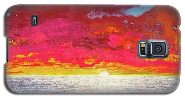 Galaxy S5 Case featuring the painting Sea Splendor by Mary Ellen Frazee