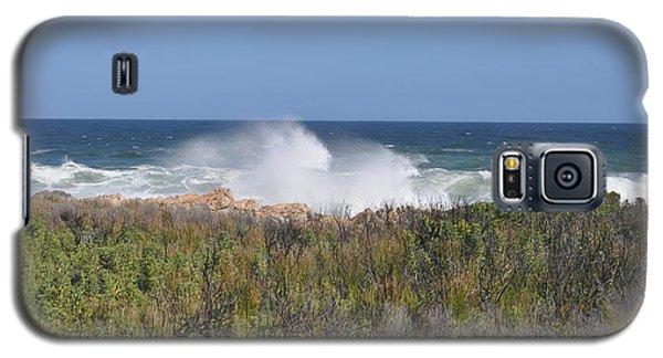 Galaxy S5 Case featuring the photograph Sea Spray by Linda Ferreira