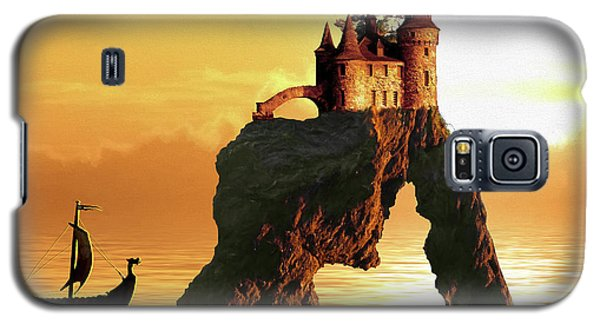 Sea Stack Castle Galaxy S5 Case